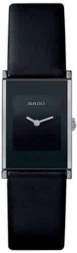 Rado Damen-Armbanduhr XS Analog Quarz Leder 15307863116