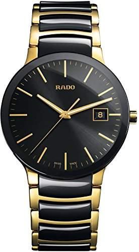 Rado Herren-Armbanduhr XL Analog Quarz Edelstahl 11509293015