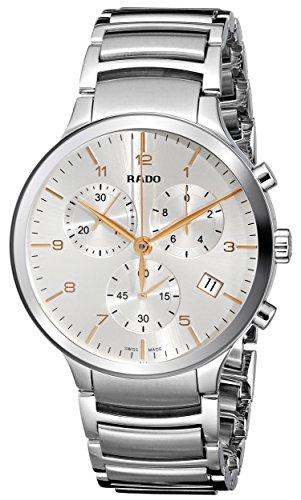 Rado Centrix Xl Herren 44mm Chronograph Saphirglas Datum Uhr R30122113