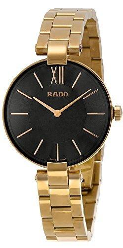 Rado Girl s Classic Quarz Edelstahl casual Uhr Farbe goldfarbenem Modell r22851163 von RADO