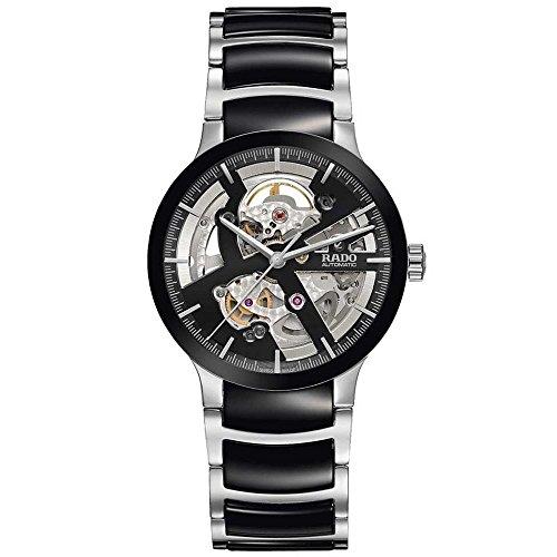 Rado Centrix Herren Armbanduhr 38mm Armband Keramik Zwei Ton Gehaeuse Edelstahl Automatik Analog R30178152