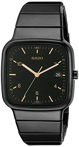 Rado Herren r28888172 R5 5 schwarz Zifferblatt Armbanduhr by RADO