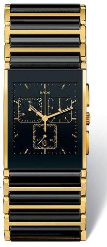 Rado Integral schwarz Keramik Herren Armbanduhr r20851162