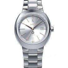 Rado r15514113 Armbanduhr D Star Damen Silber Zifferblatt Edelstahl Stahl Fall Automatische Bewegung