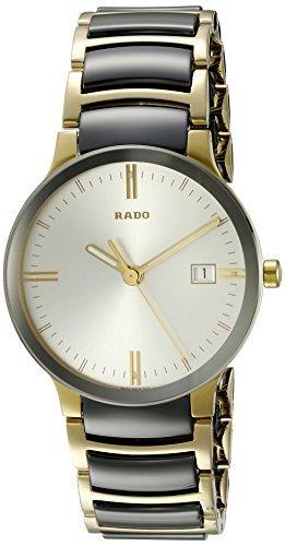 Rado Herren R30931103 Cerix Edelstahl zweifarbig Armbanduhr by RADO