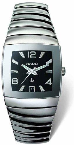 Rado Sintra Herren Schwarz Keramik Zifferblatt Automatik Uhr r13598152