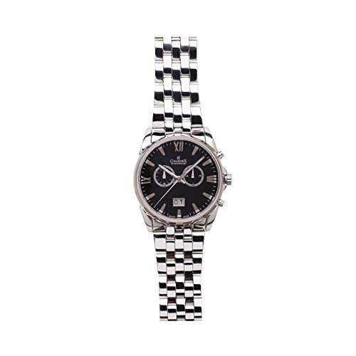Charmex Geneva Herren 42mm Chronograph Datum Uhr 2671