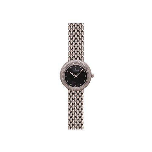 Charmex Las Vegas Damen 35mm Silber delstahl Armband Gehaeuse Uhr 6311