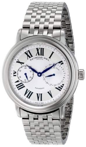 Raymond Weil Maestro Herren 41mm Saphirglas Uhr 2846-ST-00659