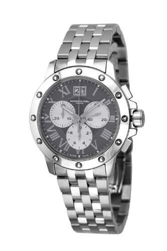 Raymond Weil Watches Herren-Armbanduhr XL Chronograph Edelstahl 4899-ST-00668