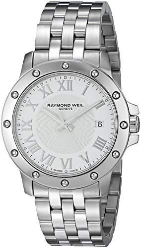 Raymond Weil Tango Stainless Steel Mens Watch White Dial Calendar 5599-ST-00308