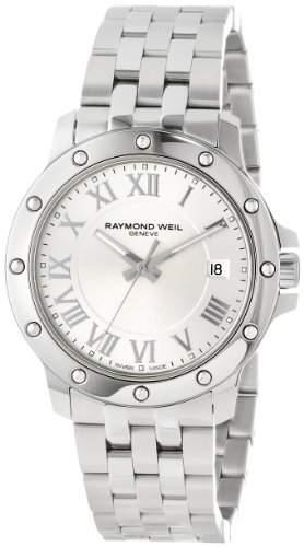 Raymond Weil Tango Stainless Steel Mens Watch Silver Dial Calendar 5599-ST-00658