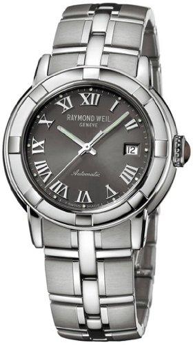 Raymond Weil 2841 st 00608 Uhr Analog Automatik Herrenuhr mit Edelstahl Armband Silber