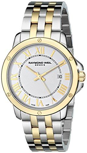 Raymond Weil Herren 5591 stp 00308 Tango Analog Display Swiss Quarz Zweifarbige Armbanduhr