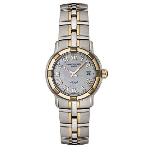 Raymond Weil Damen 9440 STG 00908 Parsifal 18k vergoldet und Edelstahl Uhr