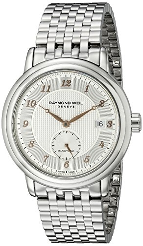 Raymond Weil Maestro Automatic Stainless Steel Mens Watch Silver Dial 2838 S5 05658