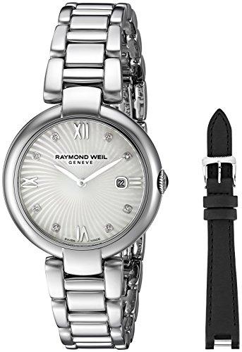 Raymond Weil 32mm Armband Edelstahl Gehaeuse Schweizer Quarz Analog 1600 ST 00995