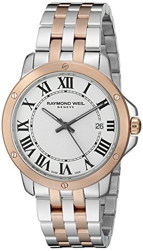 Raymond Weil Herren 32mm delstahl Armband Geh use Uhr 5591 SP5 00300
