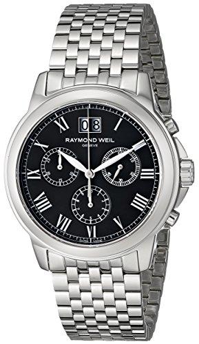 Raymond Weil Herren 4476 st 00200 Tradition Analog Display Swiss Quartz Silber Uhr