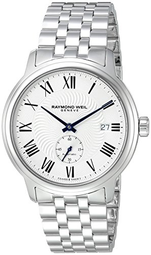 Raymond Weil 40mm Armband Edelstahl Gehaeuse Schweizer Automatik Analog 2238 ST 00659