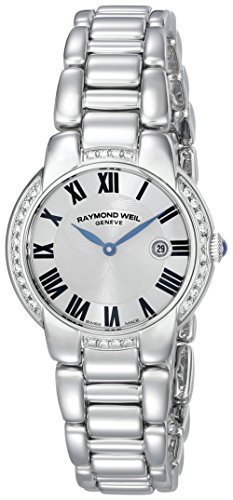 Raymond Weil Jasmine Stainless Steel Diamond Womens Luxury Watch Calendar 5229 STS 01659