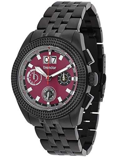 trendor Herren-Chronograph Big Date 7636-05