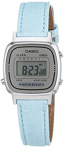 Casio Collection Collection Digital Quarz Kunstleder LA670WEL 2AEF