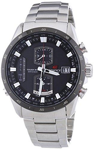 Casio XL Edifice Premium Chronograph Quarz Edelstahl EQW A1110DB 1AER
