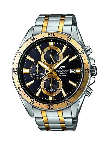 Casio Watches Efr 546sg 1avuef Gebaeude Gold Und Silber Rostfrei Stahl Chronograph Uhr Steel