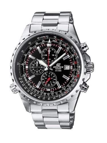 Casio Herren-Armbanduhr Edifice Chronograph Analog Quarz EF-527D-1AVEF