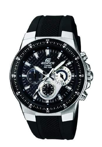 Casio Edifice Herren-Armbanduhr Chronograph Quarz EF-552-1AVEF