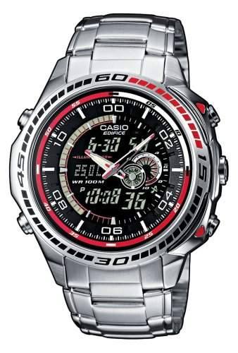 Casio Edifice Herren-Armbanduhr Analog  Digital Quarz EFA-121D-1AVEF