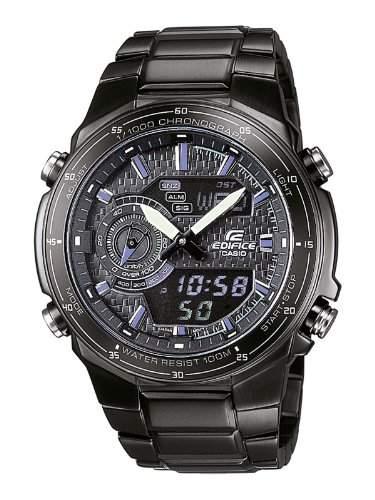 Casio Edifice Herren-Armbanduhr Analog  Digital Quarz EFA-131BK-1AVEF
