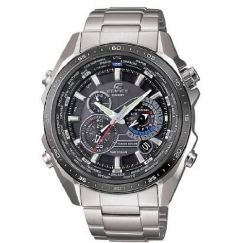 Casio Edifice Herren-Armbanduhr Solarkollektion Analog Quarz EQS-500DB-1A1ER
