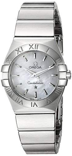 Omega Constellation Brushed Quartz 12310246005001