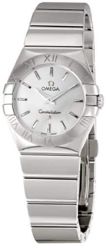 Omega Damen-Armbanduhr Analog Quarz Edelstahl 12310276002002