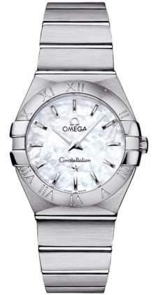 Omega Constellation Brushed Quartz 12310276005001