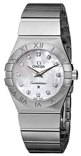Omega Constellation Brushed Quartz 12310276055001