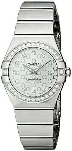 Omega Constellation Brushed Quartz 12315246052001