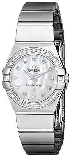Omega Constellation Brushed Quartz 12315246055001
