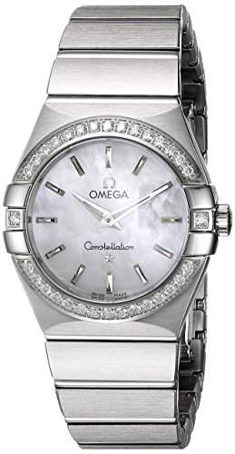 Omega Constellation Brushed Quartz 12315276005001