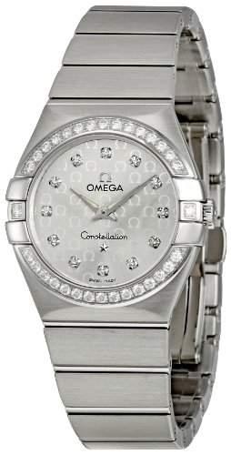 Omega Constellation Brushed Quartz 12315276052001