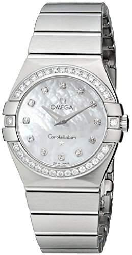 Omega Constellation Brushed Quartz 12315276055001