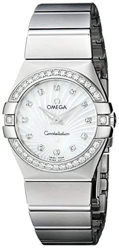 Omega Constellation Brushed Quartz 12315276055002