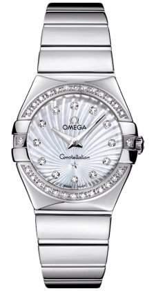 Omega Constellation Polished Quartz 12315276055004