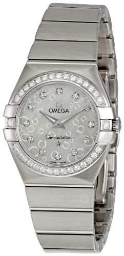 Omega Constellation Brushed Quartz 12315276055005