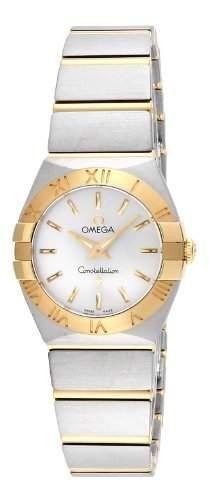 Omega Constellation Brushed Quartz 12320246002002
