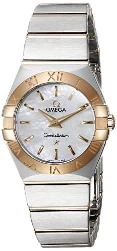 Omega Constellation Brushed Quartz 12320246005001