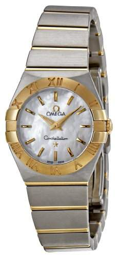 Omega Constellation Brushed Quartz 12320246005002