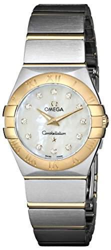 Omega Constellation Brushed Quartz 12320246055002